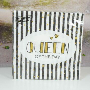 La Vida Servietten für Dich Queen Of The Day