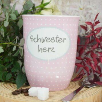 Mea Living Henkelbecher Schwesterherz