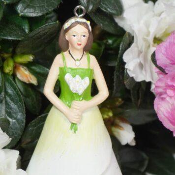 Deko Figur Dekohänger Blumenkind Lovely