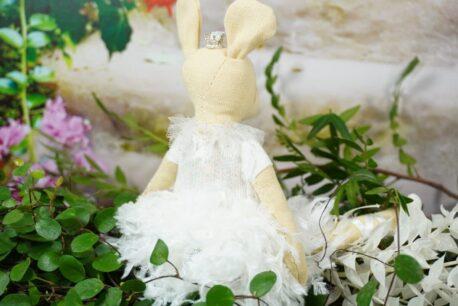 Deko Figur Dekoration Aufhänger Maus Ballerina