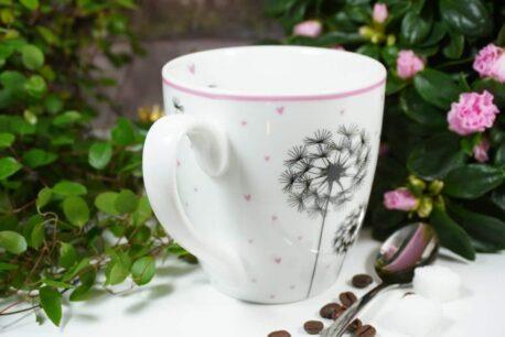 Henkelbecher Sprüche Kaffeetasse forever you