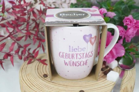 Henkelbecher Sprüche Kaffeetasse liebe Geburtstags Wünsche