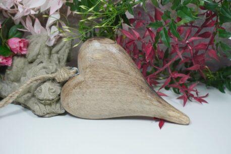Herz aus Holz Aufhänger Dekohänger