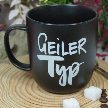 PPD Henkelbecher Kaffeebecher Geiler Typ