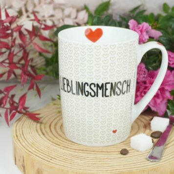 PPD Henkelbecher Kaffeebecher Lieblingsmensch