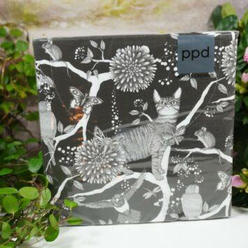 Servietten PPD Happy Cat & Mouse