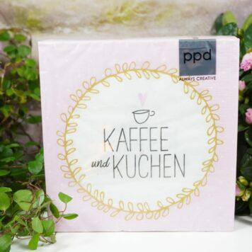 Servietten PPD Kaffee und Kuchen