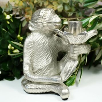 Colmore Edler Kerzenständer Kerzenleuchter Affe