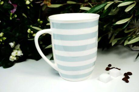 Mea Living Henkelbecher Kaffeetasse Lieblingskollege Blue