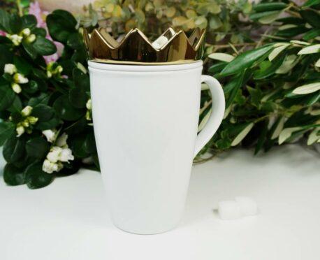 Mea Living Henkelbecher Tea Set White Gold