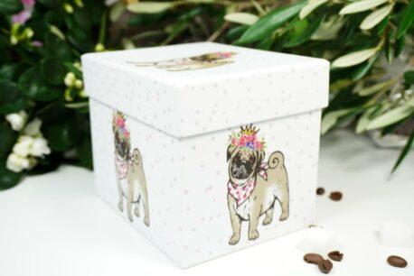 PPD Henkelbecher Bulli Flower Dog in Geschenkbox