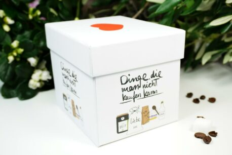 PPD Henkelbecher Dinge, die man nicht kaufen kann in Geschenkbox