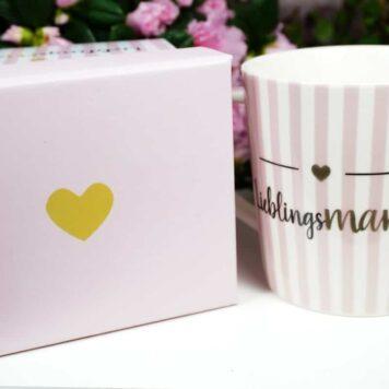 PPD Henkelbecher Lieblingsmami in Geschenkbox