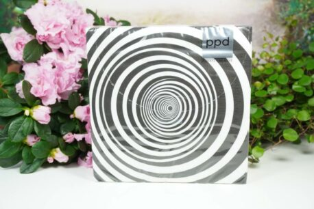 Servietten PPD Black Spiralen