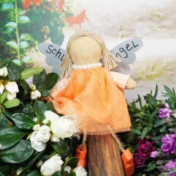 Baden Schutzengel Aufhänger Amie Orange