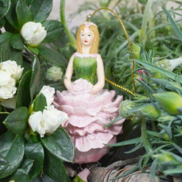 Deko Figur Dekohänger Blumenmädchen Pfingstblume