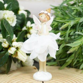 Dekofigur Blütenfee Fee Blumenfee Elfe Dream
