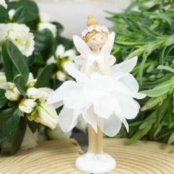 Dekofigur Blütenfee Fee Blumenfee Elfe Love