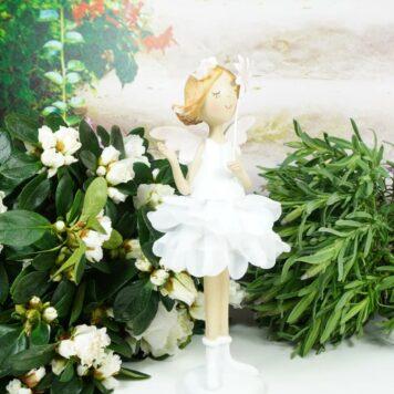 Dekofigur Blütenfee Fee Blumenfee Elfe Lovely Rose
