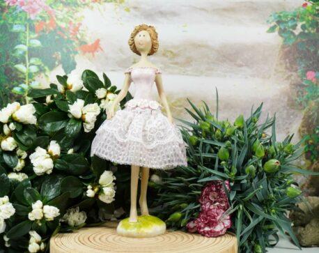 Dekofigur Blütenfee Fee Blumenmädchen Blümchen