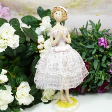 Dekofigur Blütenfee Fee Blumenmädchen Petit Lady