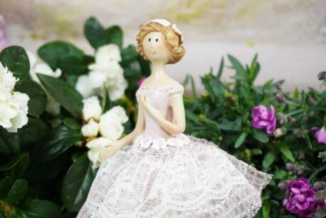 Dekofigur Blütenfee Fee Blumenmädchen Sweet Lady