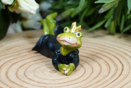 Dekofigur Froschkönig Bräutigam