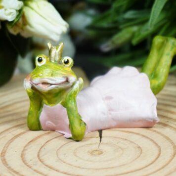 Dekofigur Froschkönigin Braut