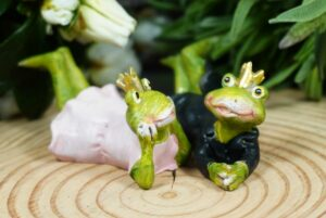 Froschkönigspaar Bräutigam & Braut