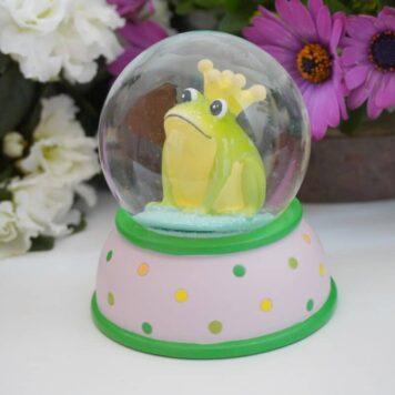 Pape Schneekugel Glimmerkugel Sweet Froschkönig GGR
