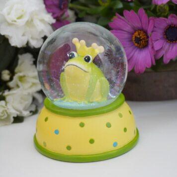Pape Schneekugel Glimmerkugel Sweet Froschkönig GGT