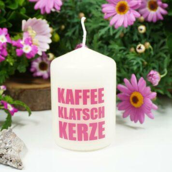 Kerzilein Kerze Flamme Kaffee Klatsch Kerze
