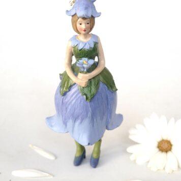 Deko Figur Blumenmädchen Glockenblumenmädchen zum Hängen
