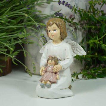 Dekofigur Schutzengel Engel Mädchen Emy