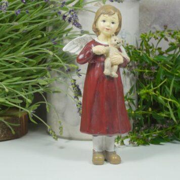 Dekofigur Schutzengel Engel Mädchen Mina