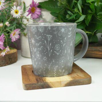 PPD Henkelbecher Kaffeebecher Trend Mug Grau