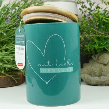 Vorratsdose Keramikdose 1 L Mit Liebe gemacht