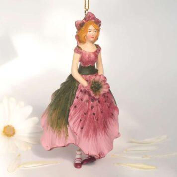 Deko Figur Blumenmädchen Christrosenmädchen zum Hängen