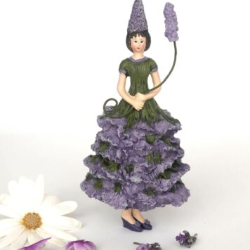 Deko Figur Blumenmädchen Lavendelmädchen zum Hängen
