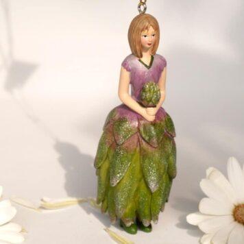 Deko Figur Blumenmädchen Proteamädchen zum Hängen